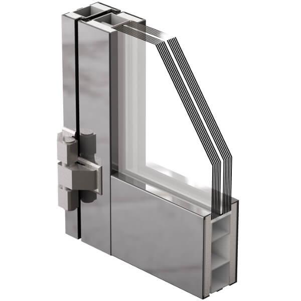 Porte in alluminio ninz - Profili alluminio per finestre ...