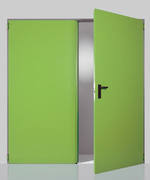 Two-leaved multipurpose doors REVER